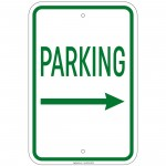 Heavy Gauge No Parking Private Drive Sign 12