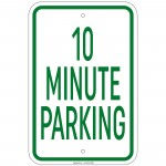 Heavy Gauge Visitor Parking Sign 12 x 18 inch Aluminum Signs Retail Store