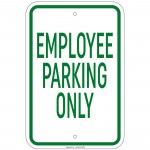 Heavy Gauge All Deliveries In Rear Sign 12 x 18 inch Aluminum Signs