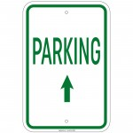 Heavy Gauge Reserved Parking 12x18 inch Aluminum Signs Retail Store
