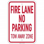 Heavy Gauge Loading And Unloading Zone Sign 12 x 18 Inch Aluminum Signs