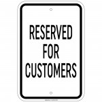 Reflective Motorcycle Parking Only Sign 12 x 18 Inch Aluminum Signs