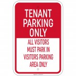 Tenant Parking Only Others Must Park In Visitors Parking Area 12